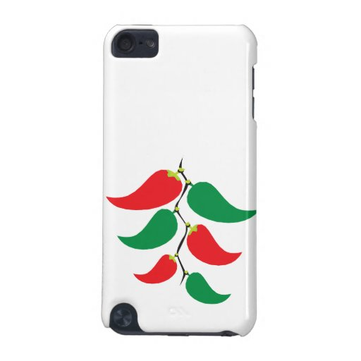 Red and Green Pepper Graphic on a string iPod Touch (5th Generation) Case