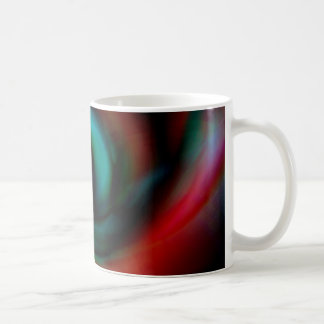 Red and green tentacles coffee mug