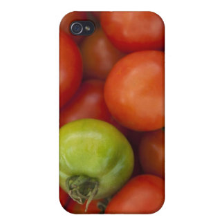 Red and Green Tomatoes with a for Sale Sign iPhone 4/4S Cover