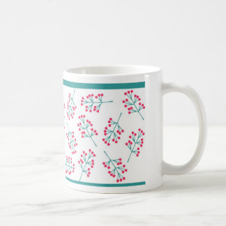 Red and Green Twigs-mug