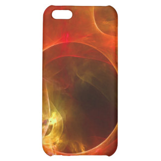 Red and Orange Circles Cover For iPhone 5C