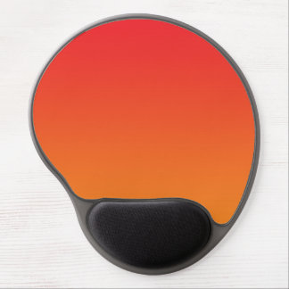 """Red And Orange Ombre"" Gel Mouse Pad"
