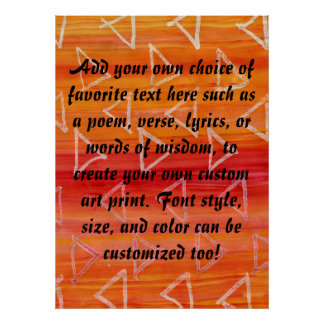 Red and Orange Tribal Print Background