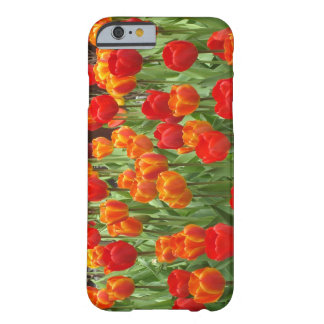 Red And Orange Tulips iPhone 6 Cover Barely There iPhone 6 Case