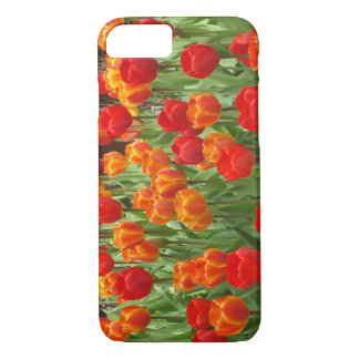 Red And Orange Tulips iPhone 7 Cover