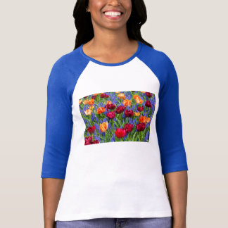 Red And Orange Tulips T-Shirt