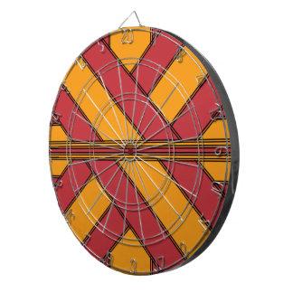 Red and Orange Wrap Dart Board