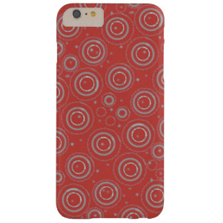 Red and silver phonecase barely there iPhone 6 plus case