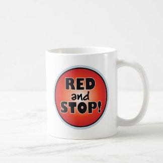 Red And Stop Coffee Mug