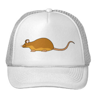 Red and Tan Pet Mouse Hats