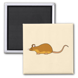 Red and Tan Pet Mouse. Magnet