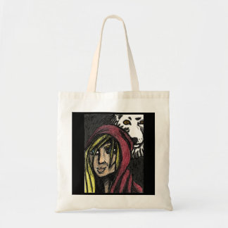 Red and The Wolf Tote