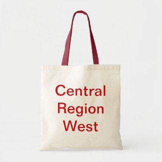 Red and Whit Central Region West Bag