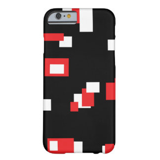 Red and White Barely There iPhone 6 Case