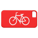 Red and White Bike iPhone 5 Case