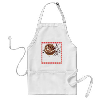 Red and White Checked Plaid Dessert Standard Apron
