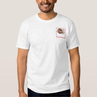 Red and White Checked Plaid Dessert Tshirts