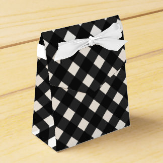 Red And White Checks Gingham Plaid Party Wedding Favour Boxes