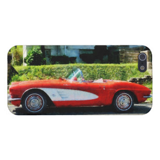 Red and White Corvette Convertible iPhone 5 Cases