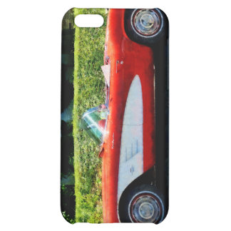 Red and White Corvette Convertible iPhone 5C Case