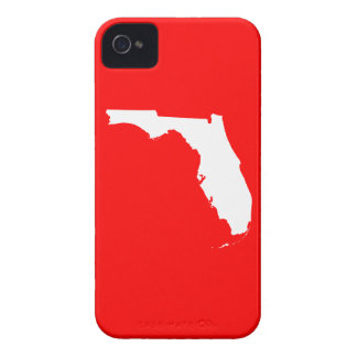 Red and White Florida iPhone 4 Case-Mate Cases