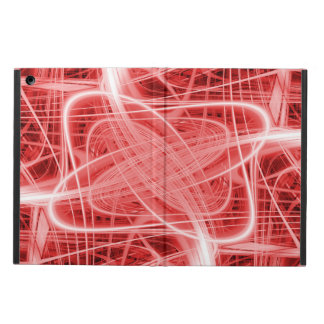 Red and white light trails cover for iPad air