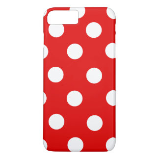 Red and White Polka Dot iPhone 7 Plus Case