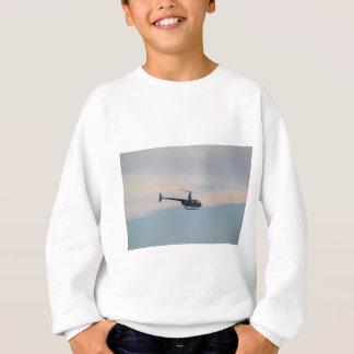 Red and White R44 Helicopter Sweatshirt