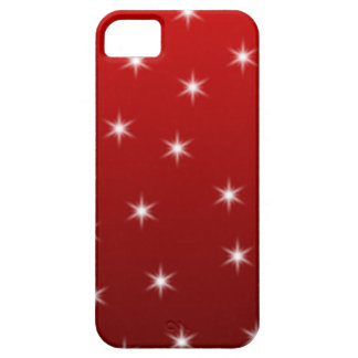 Red and White Stars Pattern. Barely There iPhone 5 Case