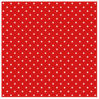 Red and white stars pattern. acrylic cut outs