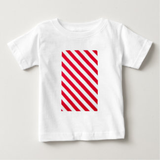 Red and white stripes baby T-Shirt