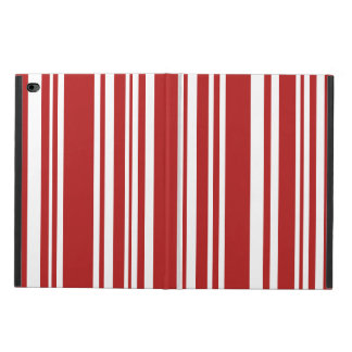 Red and White Stripes, Various Widths
