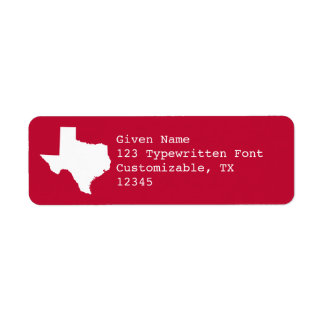 Red and White Texas