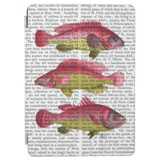 Red and Yellow Fantasy Fish Trio iPad Air Cover