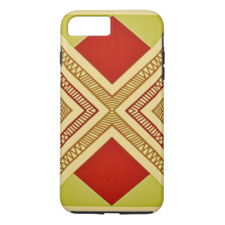 Red and Yellow Geometric print, iPod/iPhone Case