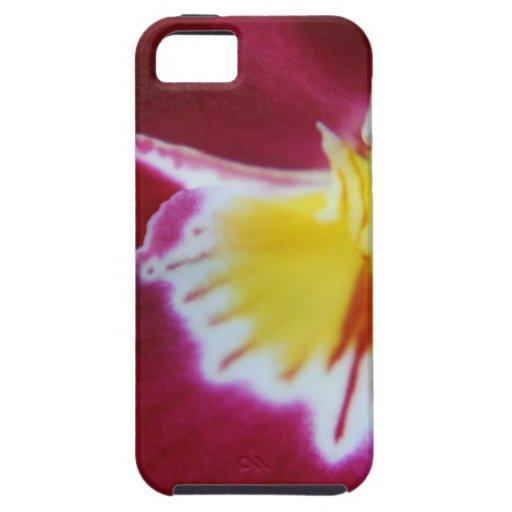 Red and Yellow Orchid iPhone 5 Case