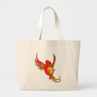 Red and Yellow Swallow Canvas Bags