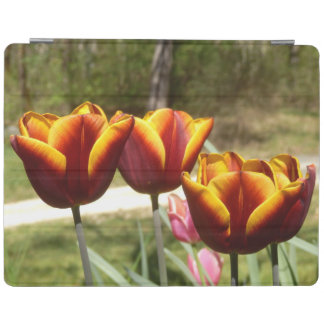 Red and Yellow Tulips iPad Cover