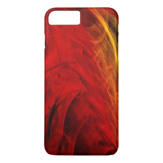 Red and Yellow Veining iPhone 7 Plus case