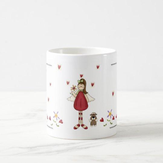 Red Angel of Love Coffee Mug