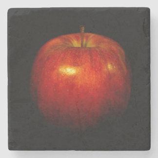 Red Apple 2 Stone Coaster