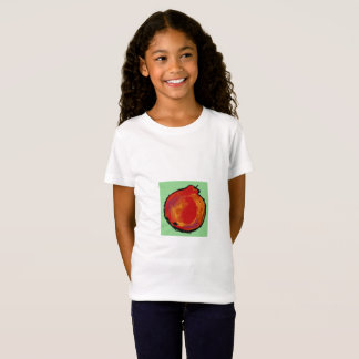 """red apple abstract T-shirt """"Apple"""""""