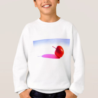 Red Apple and Shadow Sweatshirt