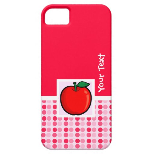 Red Apple iPhone 5 Cases
