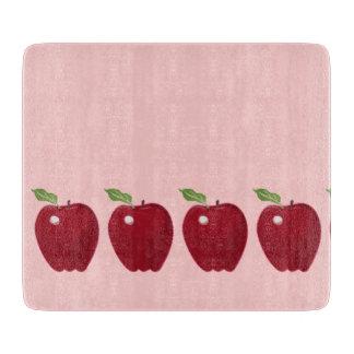 Red Apple Design Cutting Board