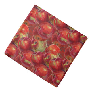 Red Apple Harvest Bandana