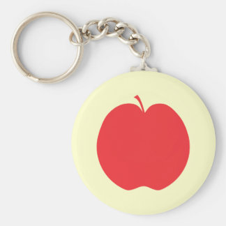 Red Apple. Key Ring