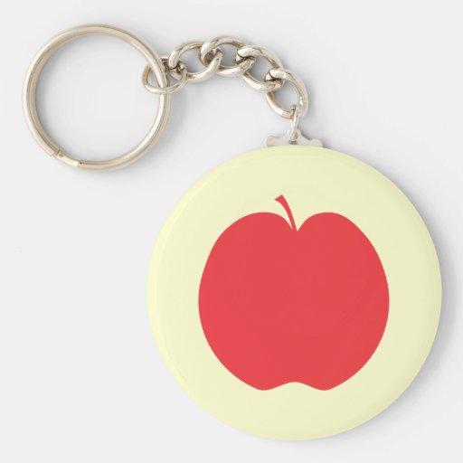 Red Apple. Keychain