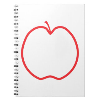 Red Apple. Notebook
