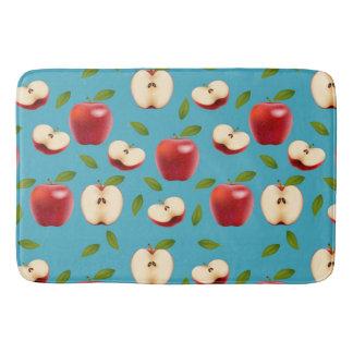 Red Apple Pattern Bath Mats